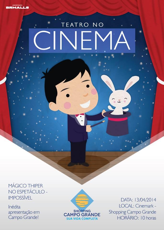 Teatro no Cinema Campo Grande