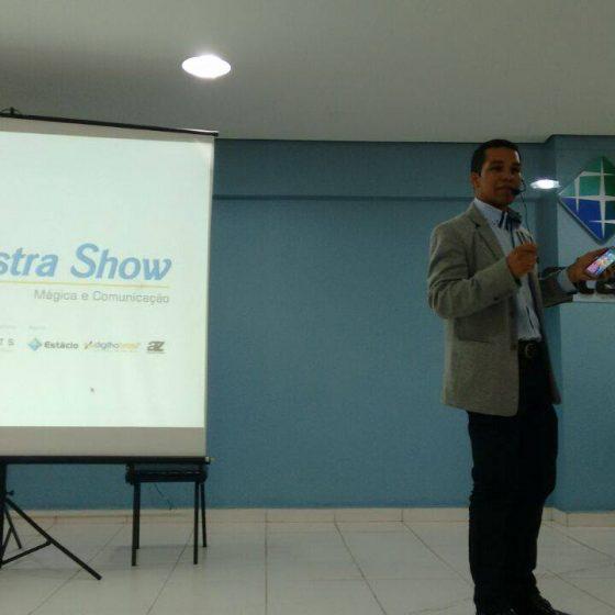 PALESTRA SHOW – MÁGICA E TECNOLOGIA