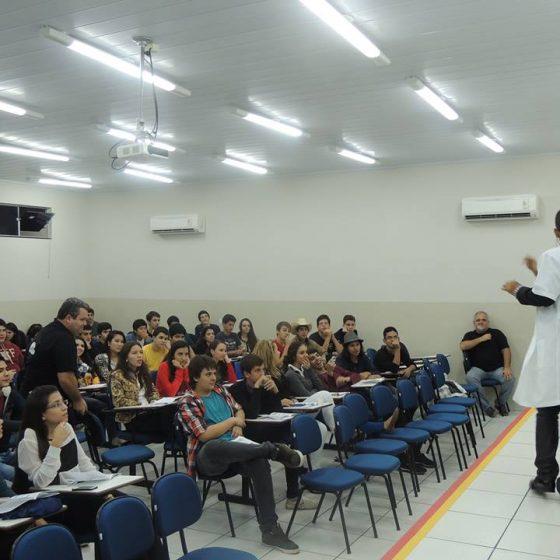 Show Aula em Dourados - Colégio Delphos
